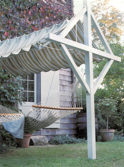 laundry yard design canopy clothesline with hammock added martha stewart