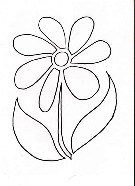 flower stencil template flower stencil