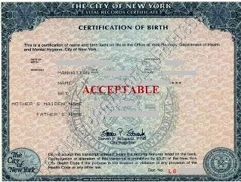 apostille for new york form birth certificate