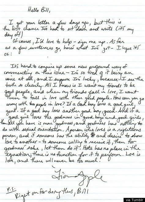Huff Post Letter To My 29 Year Mba Students by Fiona Apple S Letter To Goes Viral Intent