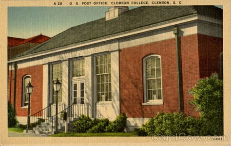 Clemson Post Office Hours by U S Post Office Clemson College