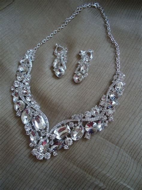 forever styles of bridal vintage wedding jewelry set