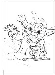 free coloring pages star wars yoda