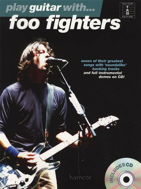 the pretender play books play guitar with foo fighters tab book play along