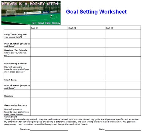 Goal Setting Worksheet by The Gallery For Gt Smart Goals Worksheet For High School