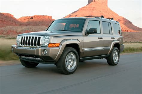 jeep commander 2006 jeep commander reviews and rating motor trend