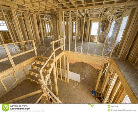 new house interior new house interior construction stock photo image 54031214