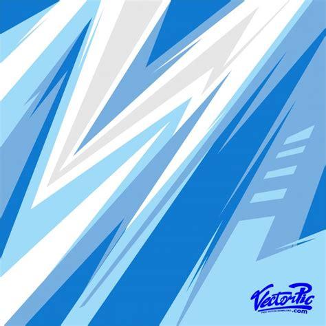racing stripe streak blue backgorund  vector