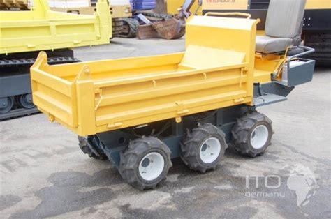 mini dumper yanmar cw  track carrier