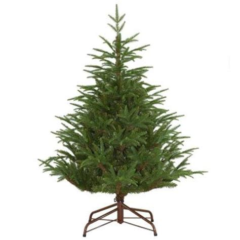 45 foot artificial christmas tree 4 5 ft unlit feel real fraser grande artificial tree pefg4 500 45 the home depot