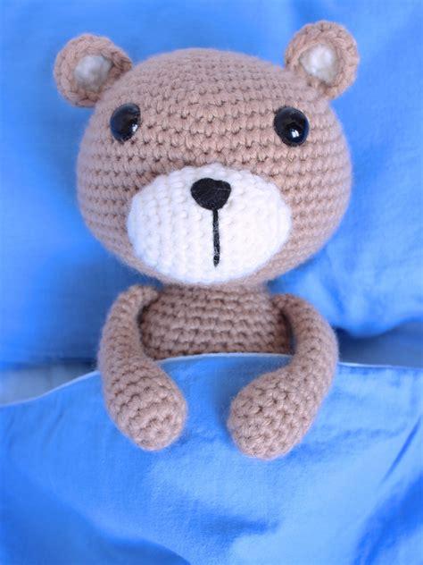 vinnie  teddy bear tremendu crochet