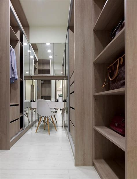 interior layout of wardrobe open plan home with oomph