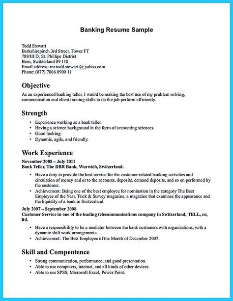 bank teller resume sample splendid design ideas bank teller