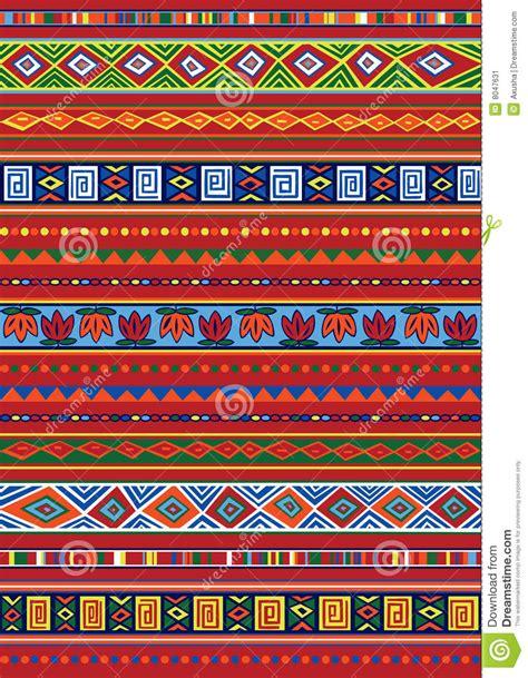ndebele african border pattern art 2 stock vector african pattern stock vector image of rectangle vector