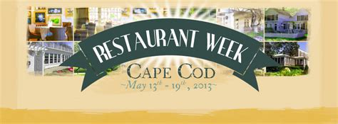cape cod restaurant week cape cod cape cod vacation - Cape Cod Restaurant Week