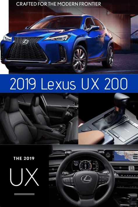 lexus ux    urban crossover car automobile