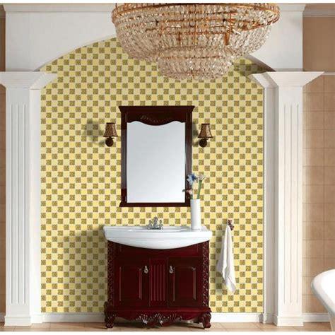 Glass Mirror Mosaic Tile Sheets Gold Mosaic Bathroom Mirror Tiles For Bathroom Walls