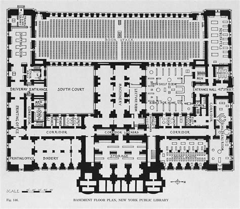 basement floor plan of the new york public library new