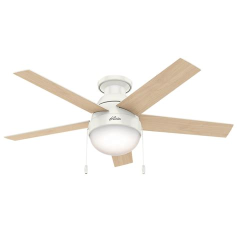 low profile white ceiling fan with light galleon 59269 anslee low profile fresh white
