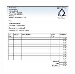 template to type in hotel receipt template 12 free word excel pdf format