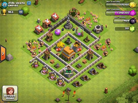 layout for town hall 5 good town hall layouts lvl5 9