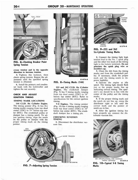 old car manuals online 2012 ford e series lane departure warning 1964 ford and mercury shop manual part 15 part 23 page 58 of 90