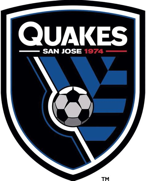 earthquake logo brand new new logo and identity for san jose earthquakes