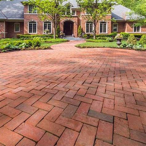 Clay Brick Pavers Brilliant 60 Clay Brick Pavers Decorating Design Of Clay
