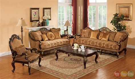formal living room sets patricia dark wood formal living room sets with carved