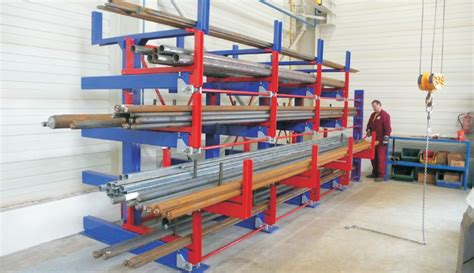 Roll Out Shelf Racks by Roll Out Cantilever Rack Eurostorage Storage Profiles