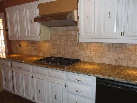 Santa Cecilia Granite Backsplash Ideas | santa cecilia light granite to create glamour and modern