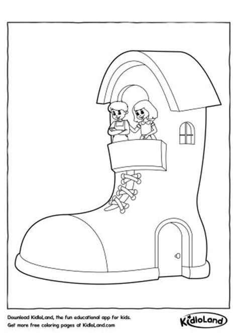 shoe house coloring pages shoe house coloring page free printables for your kids