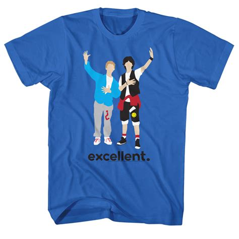 T Shirt Muhammad Ali Biru Royal bill and ted shirt minimal royal blue t shirt bill and ted shirts