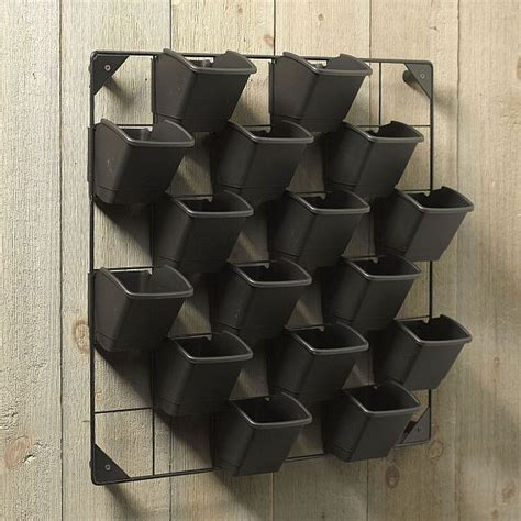 Wall Garden Pots Eco Friendly Vertical Wall Garden