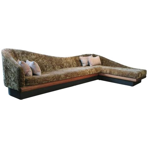 vintage corner sofa vintage 1960s sculptural corner sofa by adrian pearsall
