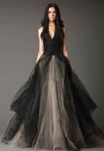 black and gray wedding dresses weddbook