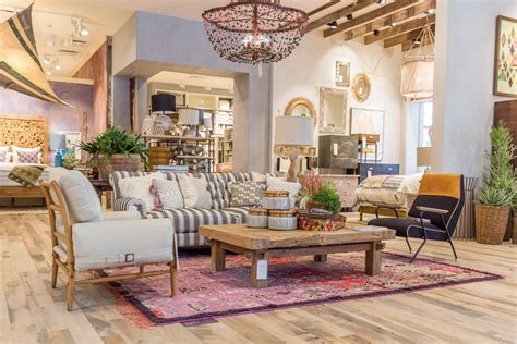 anthropologie living room anthropologie s upgraded newport beach store offers major