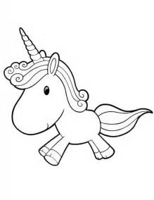 coloring pages of cute unicorns cute baby unicorn running free coloring page for