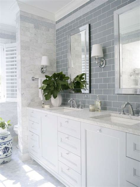 bathroom subway tile designs 17 best ideas about subway tile bathrooms on