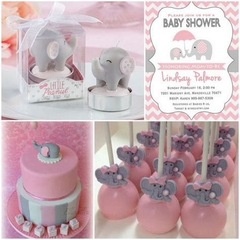 Pink And Grey Elephant Baby Shower Decorations by 38 Best Images About Pink Elephant Baby Shower On