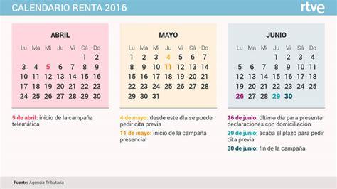 fecha renta 2016 chile renta 2016 218 ltimo d 237 a para presentar la declaraci 243 n rtve es