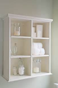 Bathroom Shelves White The Handbuilt Home Shanty 2 Chic