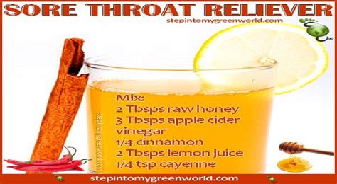 Why Sore Throat When Detoxing by Sore Throat Remedies Apple Cider Vinegar