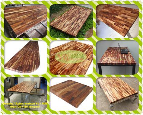 wholesale real wood kitchen worktops china acacia
