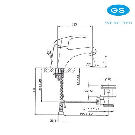 rubinetti gs monocomando miscelatore monoforo gs rubinetterie per