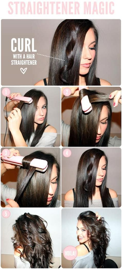 how to make flicks with a hair straightener 20 hair straightener hacks that will turn your hair into art