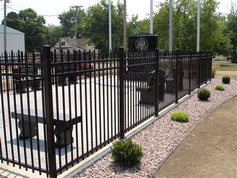decorative fence definition ornamental aluminum fence w bar y fence co springfield mo