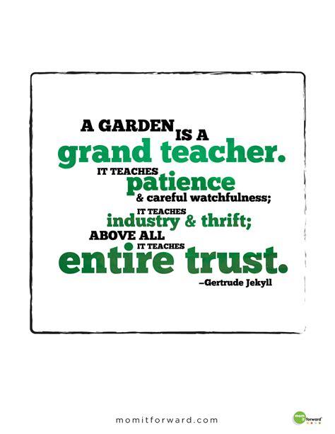 garten zitate gardening quote it forwardmom it forward