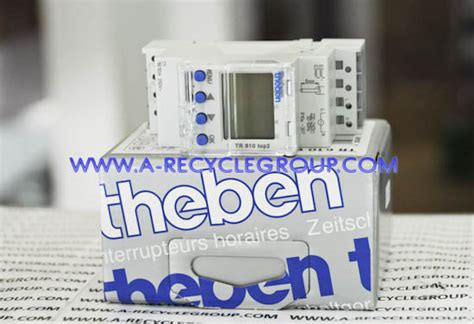 Timer Theben Tr610 Top2 Digital by Theben Digital Time Switch Tr610 Top2 Theben Digital Time