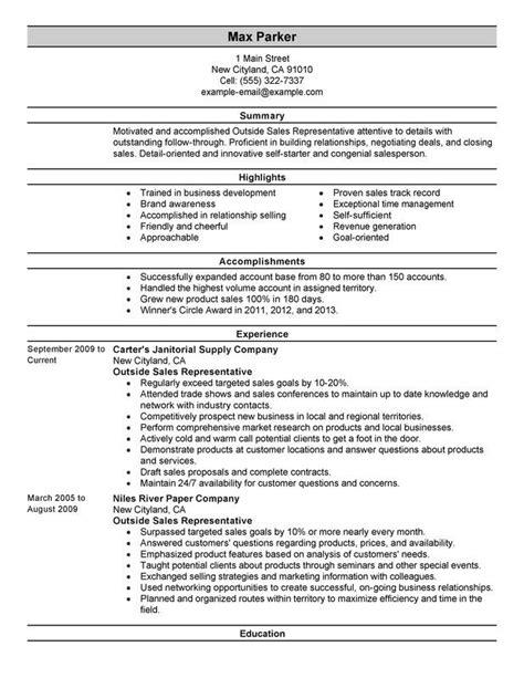 Effective Resume Sles